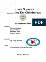 Informe Puyango-Zaruma