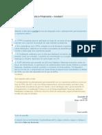 Gestão Orçamentária e Financeira modulo 1