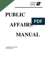 USCG Public Affairs Manual