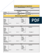 Formato de Revisión General de Banco de Capacitores 1ed