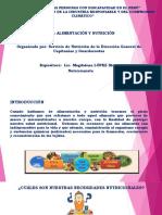 EXPOSICIÓN DE ALIMENTACIÓN Y NUTRICIÓN