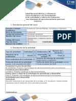 Guía de actividades y rúbrica de evaluación - Fase 9- Proponer una estrategia de aprovisionamiento para una empresa.