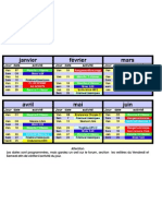 calendrier 2011 semestre1 pour téléchargement