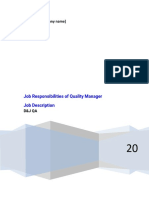 Job Responsibilities of Quality Manager.docx