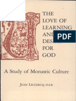 The Love of Learning and the D - Leclercq, Jean, O.S.B. & Misra