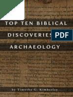 Top Ten Biblical Discoveries in - Timothy G Kimberley