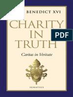 Charity In Truth - Joseph Ratzinger & Pope Benedict XVI