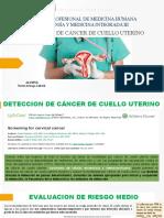 Screening CA cuello uterino