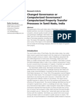 computerized governance