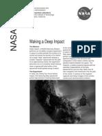 NASA Facts Making a Deep Impact May 2005
