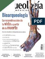 Arqueología mexicana, Bioarquelogía