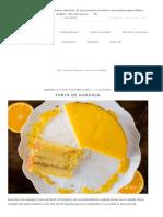 Torta de naranja _ En Mi Cocina Hoy