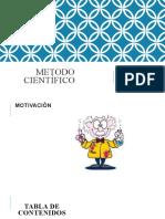 Diapositivas de METODO CIENTÍFICO SESIÓN