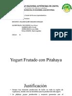 Yogurt Frutado con Pitahaya