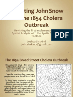 John Snow and the 1854 Cholera Outbreak
