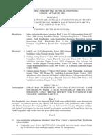 PP Nomor 149 Tahun 2000 - Pemotomgan Pajak Penghasilam Pasal 21 Atas Pensiun