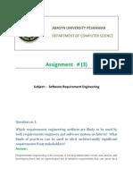 Assignment no 03