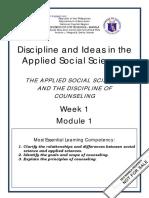 DIASS Self Learning Module 1