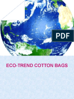 eco-trend cotton bags new