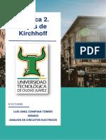 Practica 2. Leyes de Kirchhoff