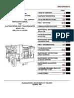 TM 10-3530-205-10   CLOTHING REPAIR SHOP