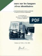 2009. VV.AA. Langues et rêves identitaires.pdf