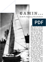 Gamin Sailboat Plans