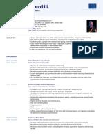 CV Europeo con foto novembre 2020