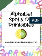 Alphabet Spot and Dot