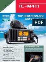 IC-M411 leaflet