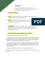 DICCIONARIO DE LA SENTENCIA 3