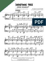 O Christmas Tree (jazz piano arrangement)