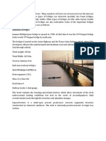 Common type of bridges in Bangladesh