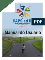 Manual do Usuário 2018 CAPS ADIII