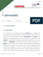 Multimedialità - La Comunicazione