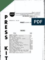 Geodetic Explorer-A (Explorer XXIX) Press Kit