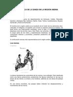 RESEÑA HISTORICA DE LA DANZA EN LA REGIÓN ANDINA COLOMBIANA