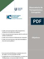 UCU Y UT Observatorio de Transparencia y corrupción