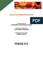 Fire Water Film Press Kit