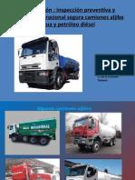 Consideraciones operacionales y técnicas de operación y mantenimiento Camiones Aljibe agua y petroleo
