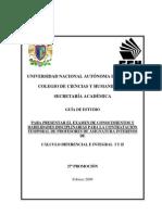 Cálculo Diferencial e Integral I-II