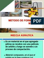 11. METODO DE FORMULACION BRUCE MARSHALL