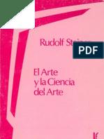El Arte y La Ciencia Del Arte, Rudolf Steiner