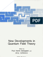 New Developments in Quantum Field Theory - P. Damagaard, J. Jurkiewicz