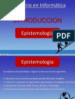Seminario en Informatica - Epistemología