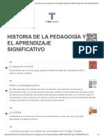 historia-de-la-pedagogia-y-el-aprendizaje-significativo-