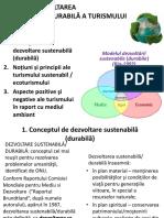 Tema 13. Dezvoltarea sustenabila a turismului