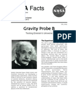 NASA Facts Gravity Probe B Testing Einstein's Universe 2003