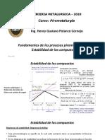Clase Nº 18 Estabilidad de los compuestos