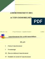 Chp. 1 - Amortissement Des Actifs Immobilisés - Cours